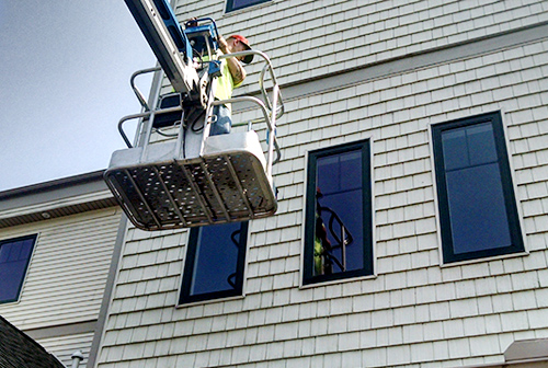 High Performance Services window washing Ludington, MI