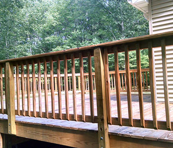 deck repairs and modifications