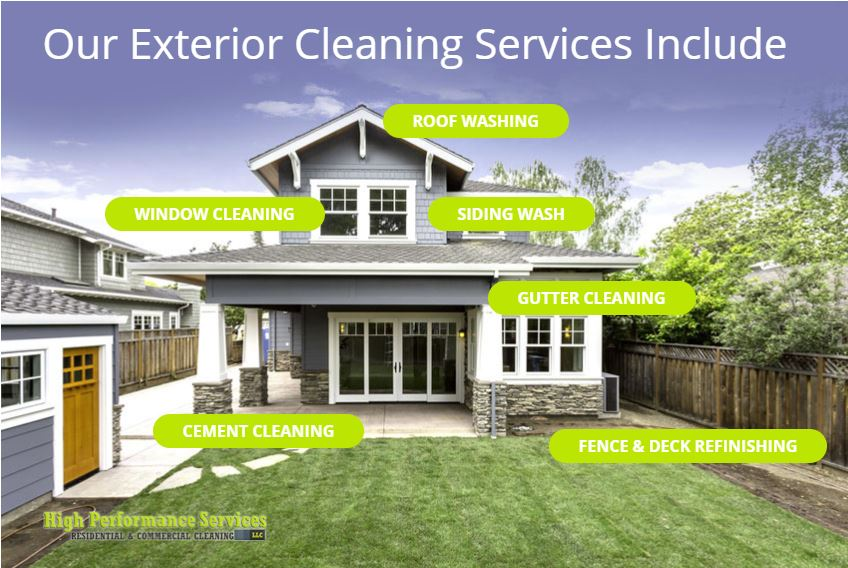 high perfromance cleaning services ludington mi