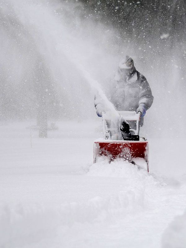snowblowing and snow removal