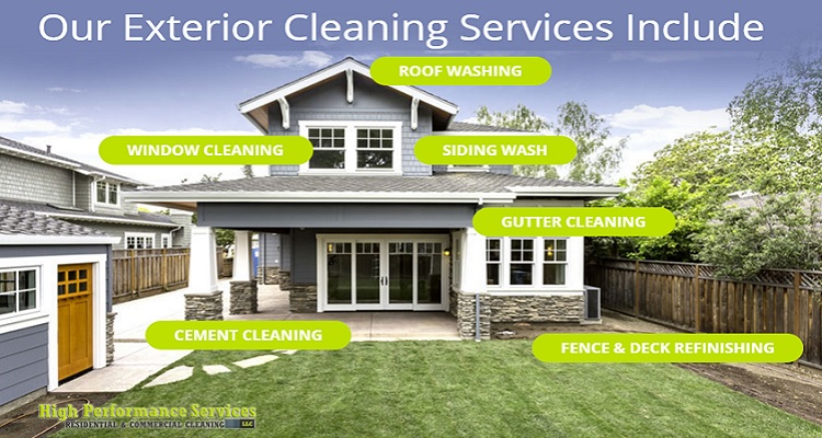 Exterior cleaning for your home high performance services - Exterior house cleaning services ...
