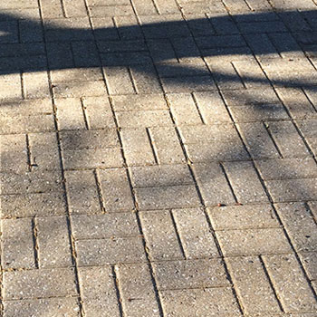 brick patio paver cleaning in ludington and traverse city michigan