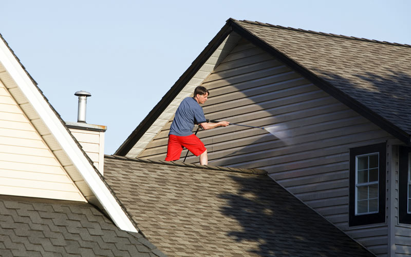 Soft Wash Your Home Don T Use High Pressure Cleaning