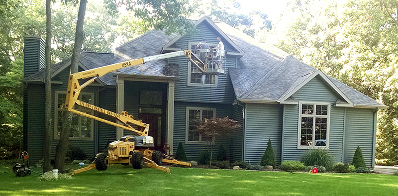 Exterior House Washing - High Performance Services